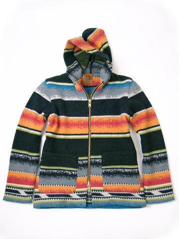 新品/MUCHO BUENO/ムーチョブエノ/インディアン/ラグジャケット/bk/L_MUCHO BUENO メンズジャケット