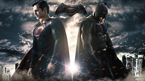kk202スーパーマンバットマン2015作品布ポスター対24x36