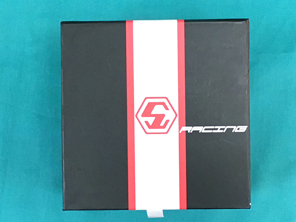 極美品■STEEL CRAFT SCレーシング ラウンドジェントルマン 3ハンド クォーツ定価5.5万スイス正規アウトレットZE-2_画像9