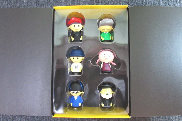 ★relax glove puppets/リラックスボーイ/指人形セット/絶版/★新品_画像1