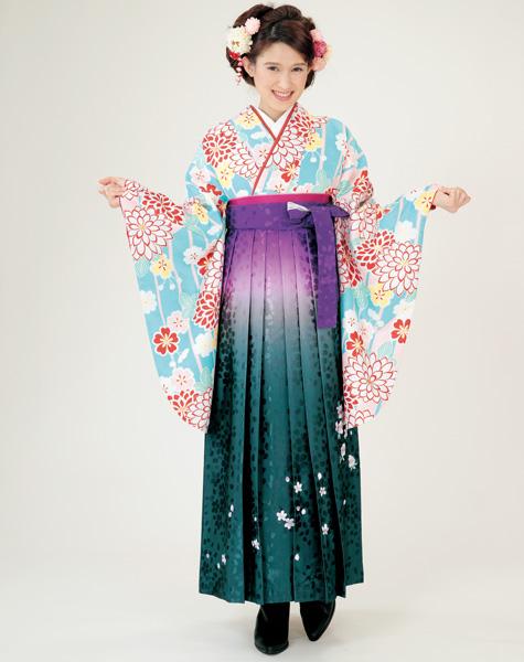 着物袴セット ジュニア用へ直し144cm~150cm H・Lアッシュ・エル 新品 (株)安田屋_画像1