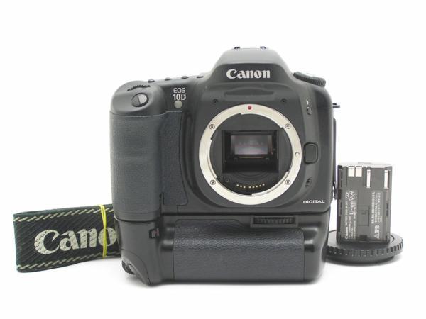 ★ハロ-カメラ★5839 Canon EOS 10D BG-ED3付 Body 難有 動作品