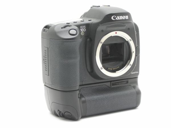 ★ハロ-カメラ★5839 Canon EOS 10D BG-ED3付 Body 難有 動作品_画像2