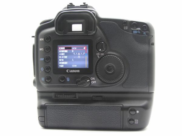 ★ハロ-カメラ★5839 Canon EOS 10D BG-ED3付 Body 難有 動作品_画像4