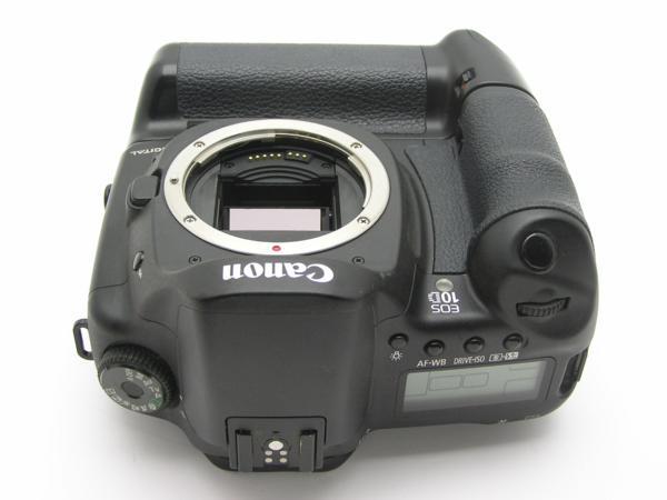 ★ハロ-カメラ★5839 Canon EOS 10D BG-ED3付 Body 難有 動作品_画像6