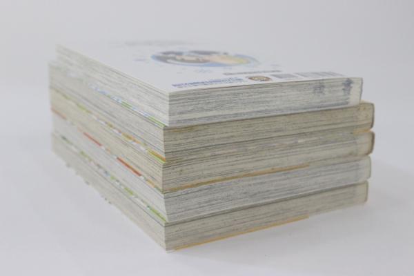 【マンガ図書館Z】梅川和実先生「ガウガウわー太」「スノーホワイト」直筆イラスト&サイン入り単行本セット rfp1075_画像2