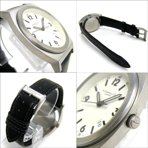 クリーニング済 ダンヒル 8051 トノー ヴァニラ文字盤 メンズ 時計 レア_画像3