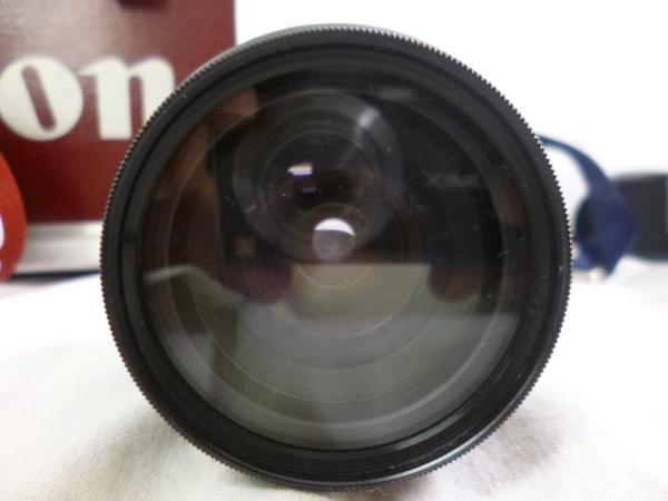 CANON キャノン EOS5QD EF 35-135mm F4-5.6 レンズ2本 フラッシュ 430EZ ハードケースまとめてジャンク_画像7