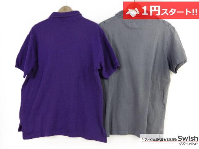 A784●EMPOLIOARMANI アルマーニ●ポロシャツ 2点セット●_画像6
