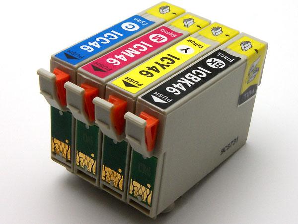 互換インク IC46系4色 色選択可