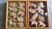自然素材の玩具 立体3Dパズル①サカナ 1