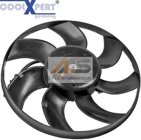 【M's】VW ジェッタ(1K) パサート(3C) ポロ(6R) シロッコ(13) トゥーラン(1T)ラジエター 電動ファン/アディショナルファン 1K0-959-455ES_画像1