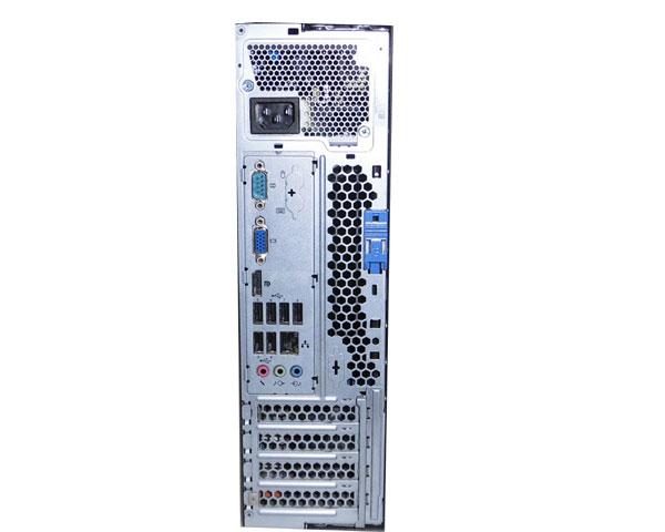 OSなし 中古パソコン Lenovo ThinkCentre M81 Small 5049-F4J Core i5 2400 3.1GHz/2GB/320GB/DVDマルチ_画像2