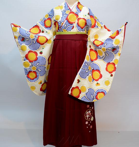 二尺袖 着物 袴フルセット 夢千代 2019年最新モデル 着物丈は着付けし易いショート丈 新品 (株)安田屋_画像2