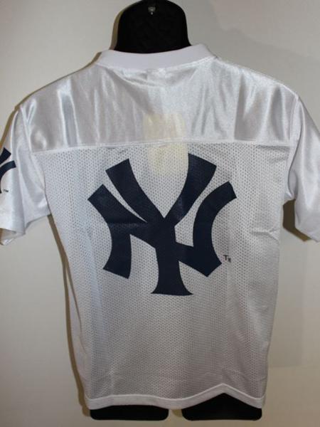 ヤンキース Majestic New York Yankees メンズ半袖シャツ ホワイト Mサイズ 新品_画像6