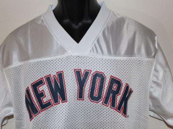 ヤンキース Majestic New York Yankees メンズ半袖シャツ ホワイト Mサイズ 新品_画像4