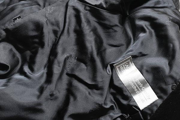 ギ ラロッシュ サガ シェアード ミンク コート 美品 送料無料 【J67】 Guy Laroshe SAGA MINK BLACK_画像8