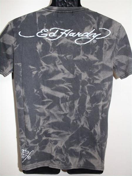 エドハーディー ED HARDY メンズ半袖Tシャツ Mサイズ TT552 新品_画像4