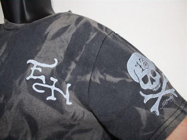 エドハーディー ED HARDY メンズ半袖Tシャツ Mサイズ TT552 新品_画像3