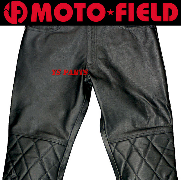 [復刻]モトフィールドMF-LP39キルトパッド付ブーツアウトパンツM 【脱着可能膝パッド装備/裾ファスナー付】_画像2