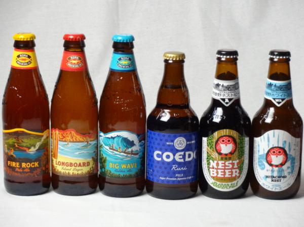 クラフトビールパーティ6本セット ハワイコナビールファイアー_画像1
