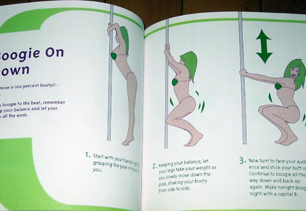 洋書 Pole Dancing for Fitness ポールダンスバーレスク 輸入品_画像2