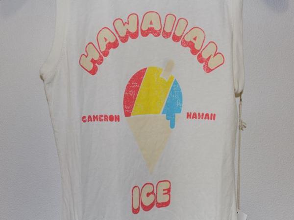 キャメロンハワイ Cameron Hawaii レディースノースリーブTシャツ Sサイズ NO16 新品_画像4