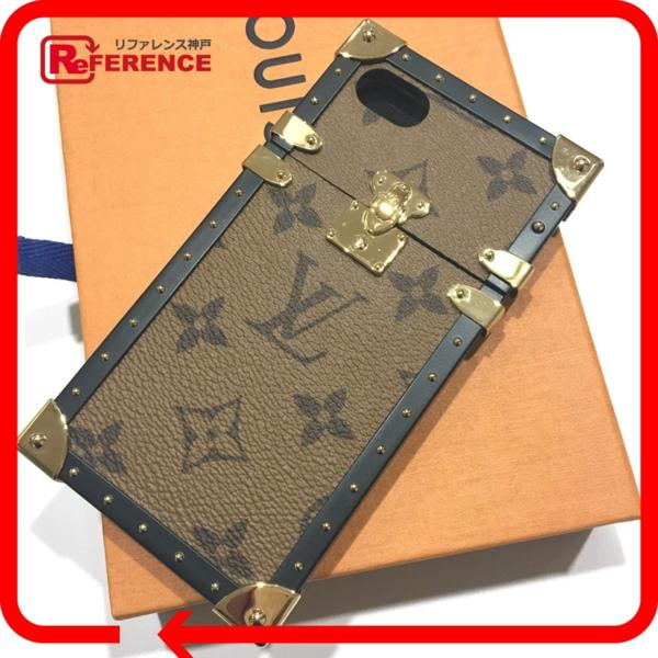 ルイ・ヴィトン iphoneカバー M64484 アイフォンカバー アイトランク・iphone7 モノグラム・リバース iPhoneケース_画像1