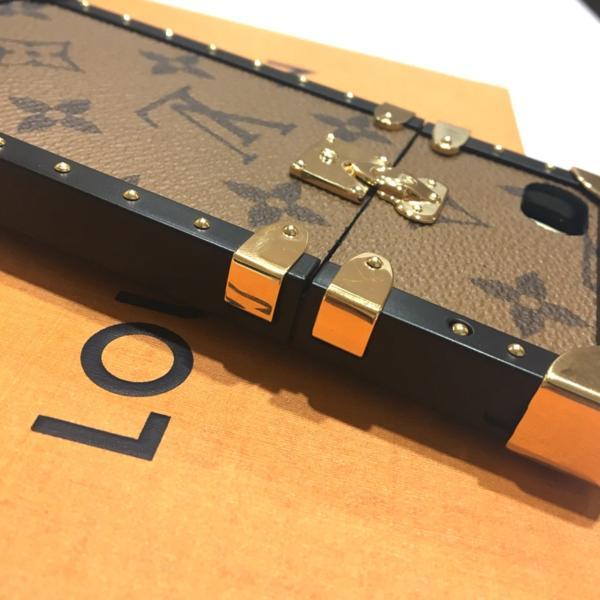ルイ・ヴィトン iphoneカバー M64484 アイフォンカバー アイトランク・iphone7 モノグラム・リバース iPhoneケース_画像5