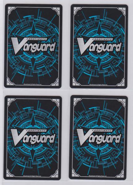 ▲VG スペクトラル・デューク・ドラゴン G-CB02/005 RRR 4枚 ゴールドパラディン_画像2