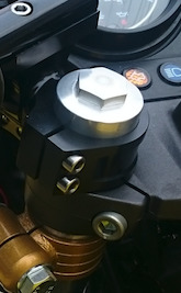 弁天部品 hornet250 フロントフォーク延長キット 50ミリ(トマゼリ)(カフェレーサー)(ハンドル交換)(車高調整)などに_画像8