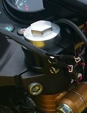 弁天部品 hornet250 フロントフォーク延長キット 50ミリ(トマゼリ)(カフェレーサー)(ハンドル交換)(車高調整)などに_画像6