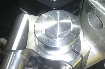 弁天部品 hornet250 フロントフォーク延長キット 50ミリ(トマゼリ)(カフェレーサー)(ハンドル交換)(車高調整)などに_画像7