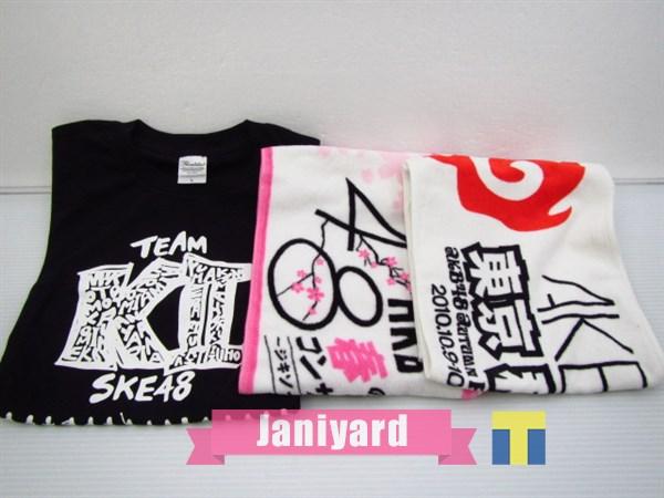 AKB48 SKE48 Tシャツ マフラータオル 3点セット 1円
