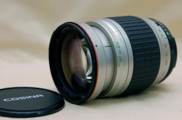 Nikon ニコン 専用 COSINA製 28-210mm AF 高級ズームレンズ 希少・完動品