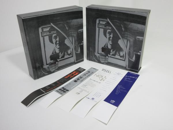 特典ボックス2個+特典帯5枚セット ムーンライダーズ MOON RIDERS