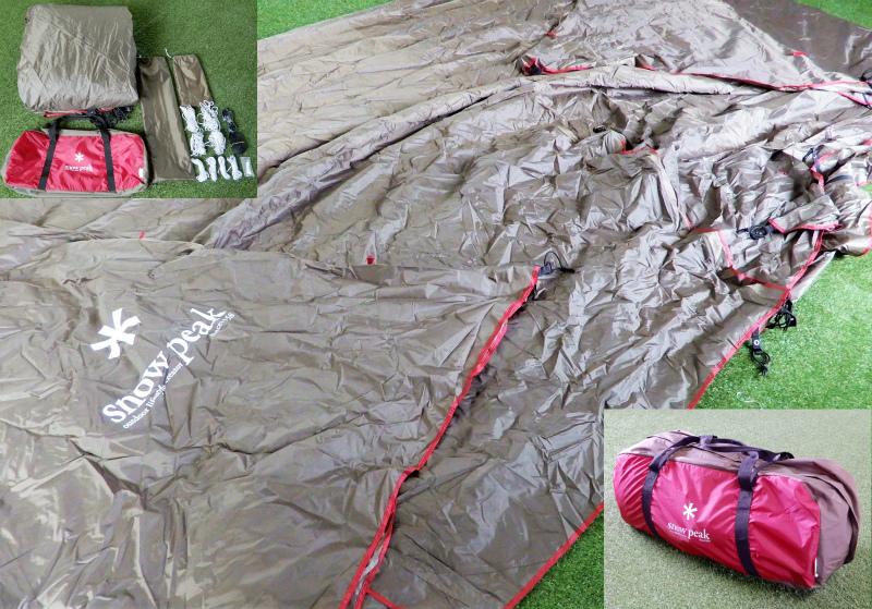 竜R100◆極美品 snow peak スノーピーク TP-820 ランドステーション L (タープ/テント/キャンプ/アウトドア用品)_画像1