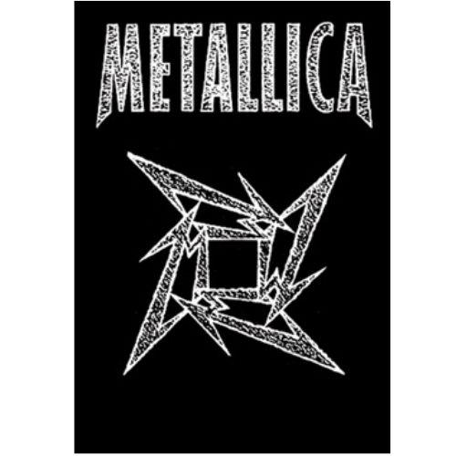 海外限定 公式 Metallica メタリカ 特大布ポスター G102