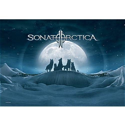 海外限定 公式 Sonata Arctica ソナタ アークティカ 布ポスター