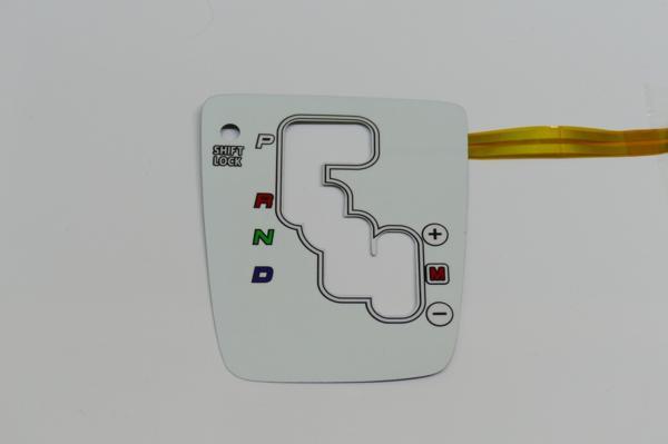 新品 コペン シフトパネル 白 L880K +- ホワイト