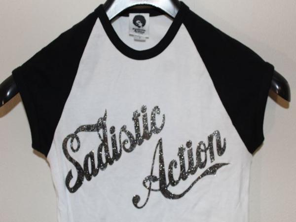 サディスティックアクション SADISTIC ACTION レディースTシャツ Sサイズ 新品_画像2