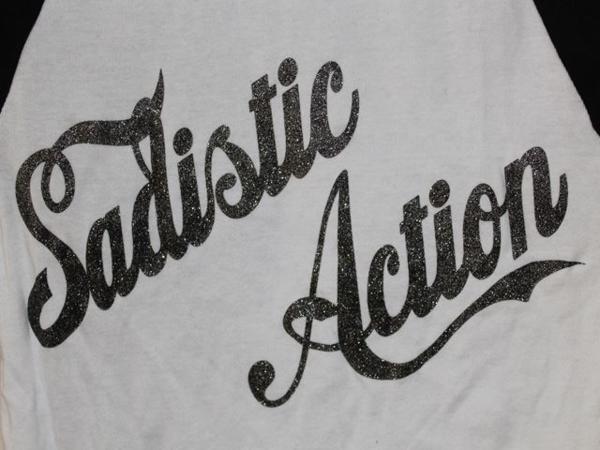 サディスティックアクション SADISTIC ACTION レディースTシャツ Sサイズ 新品_画像3