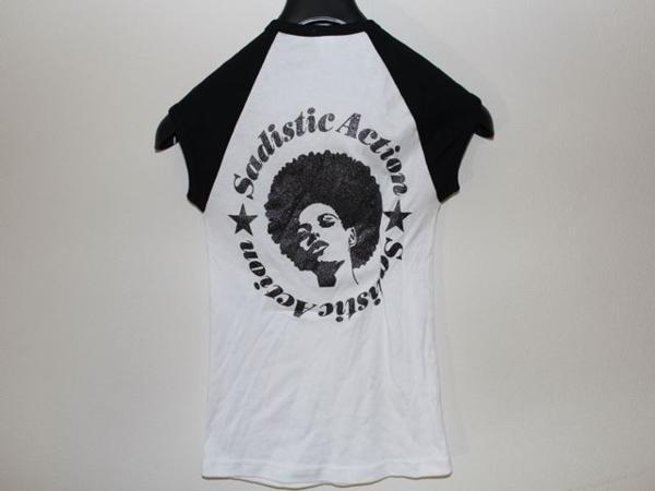 サディスティックアクション SADISTIC ACTION レディースTシャツ Sサイズ 新品_画像4