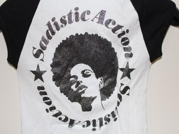 サディスティックアクション SADISTIC ACTION レディースTシャツ Sサイズ 新品_画像5