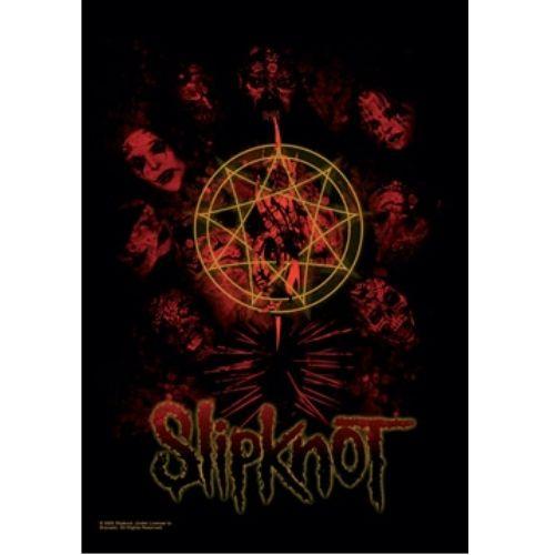 海外限定 公式 Slipknot スリップノット 特大布ポスター G110