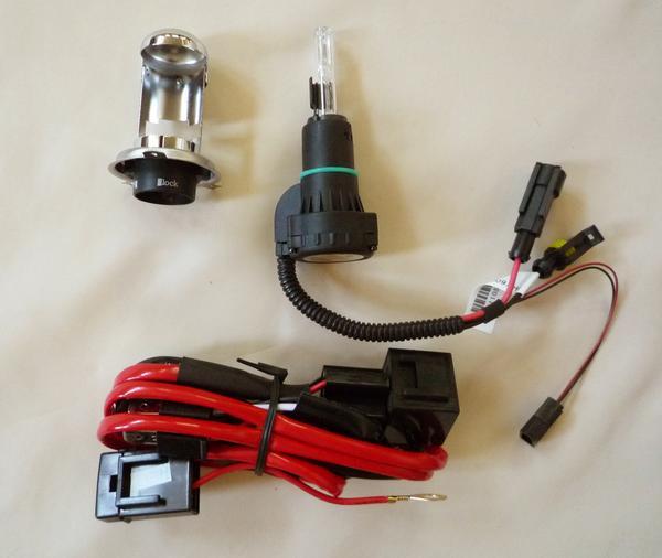 HIDバルブ 12V 35W 5000K H4 Hi/Lo スライド式1R-新品-_画像2
