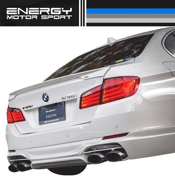 【M's】 BMW F10 セダン リア スポイラー FRP ENERGY EVO10.2_画像3