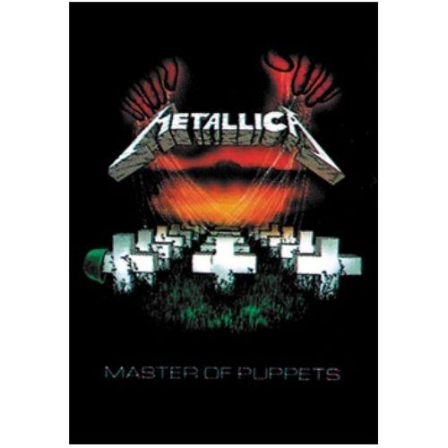 海外限定 公式 Metallica メタリカ 特大布ポスター G109