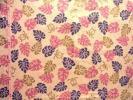 ★カット♪綿麻キャンバス♪グリッター・ホヌ(ピンク系) 110×30