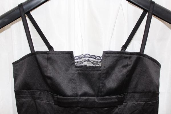 イタリア製 LINEA レディースワンピース Mサイズ ブラック 新品_画像2